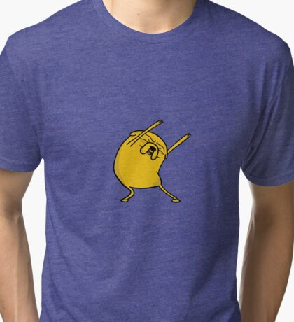 Jake the dog Tri-blend T-Shirt