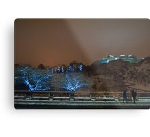 Christmas Hogmanay in Edinburgh Scotland UK Metal Print