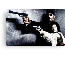 leon the professional Canvas Print
