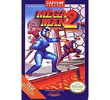 Mega Man 2 nes Photographic Print