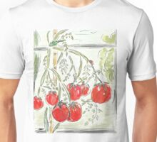 "Tomato Digital Painting (""In the Greenhouse"") Unisex T-Shirt"