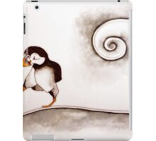 Marching Puffin iPad Case/Skin