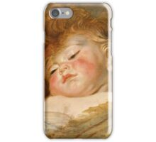 Peter Paul Rubens - Two Sleeping Children  iPhone Case/Skin
