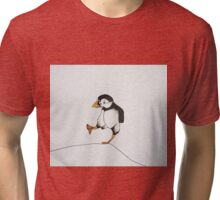 puffin marching Tri-blend T-Shirt