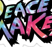 Tie Dye Peace Maker Sticker