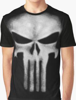 Punisher DD white Graphic T-Shirt