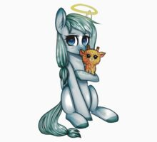 the unicorn angel by remi42 Baby Tee