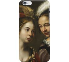 Wouter Crabeth I - Company Making Music  iPhone Case/Skin