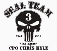 US Sniper Chris Kyle American Legend Kids Tee