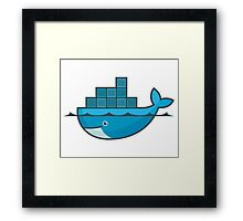 docker Framed Print