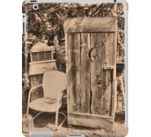 """OUTHOUSE AND NEXT IN LINE""... prints and products iPad Case/Skin"