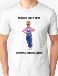 MICHELLE TANNER FASHION EMPIRE - FULLER HOUSE Unisex T-Shirt