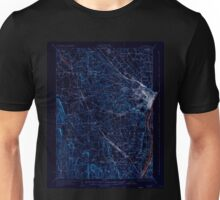 New York NY Albany 139149 1927 62500 Inverted Unisex T-Shirt