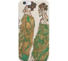 Egon Schiele - Devotion 1913 ,  Man Portrait , Egon Schiele  iPhone Case/Skin