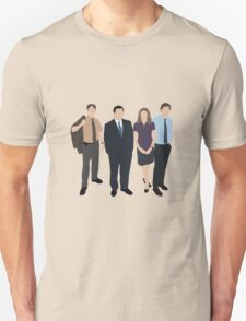 The Office US - Line Up Unisex T-Shirt