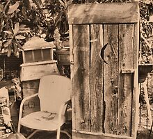 """OUTHOUSE AND NEXT IN LINE""... prints and products by © Bob Hall"
