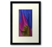 Painted Sheets Abstract No 19 Framed Print