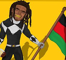 The Black Power Ranger by Watson  Mere