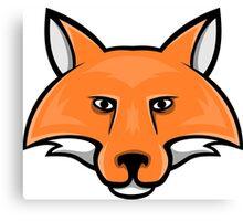 Fox Head 2 Canvas Print