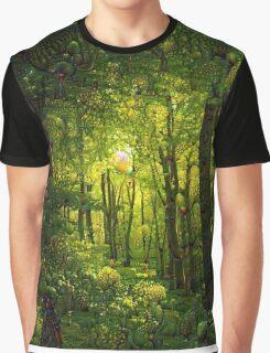 Woodland Dream Graphic T-Shirt