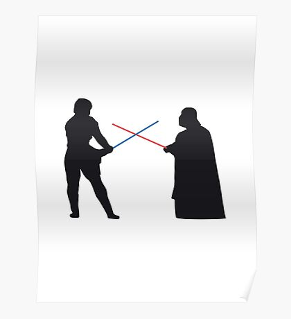 Star Wars - Duel Poster