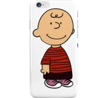 Charlie Brown and Snoopy as Calvin and Hobbes iPhone Case/Skin
