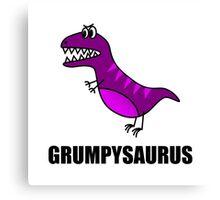 Grumpysaurus Canvas Print