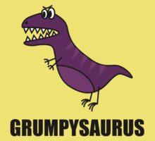 Grumpysaurus One Piece - Short Sleeve