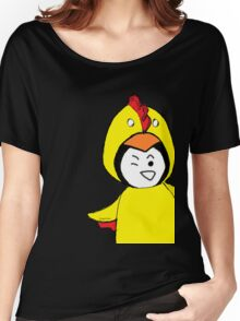 Pengychicken - a penguin in a chicken costume Women's Relaxed Fit T-Shirt