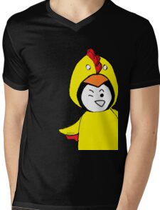 Pengychicken - a penguin in a chicken costume Mens V-Neck T-Shirt