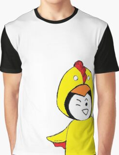 Pengychicken - a penguin in a chicken costume Graphic T-Shirt