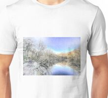 The Winters Day Pond Unisex T-Shirt