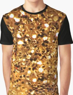 Gold Bling Graphic T-Shirt