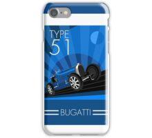 Poster artwork - Bugatti Type 51 iPhone Case/Skin