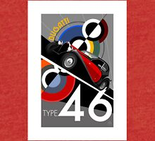 Poster artwork - Bugatti Type 46 Tri-blend T-Shirt