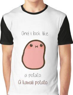A kawaii potato Graphic T-Shirt