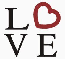 Love Logo Kids Tee