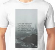 who were you trying to be? Unisex T-Shirt