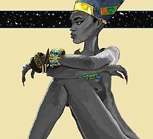 Nefertiti's Gaze by Watson  Mere