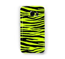 0245 Electric Lime or Flourescent Yellow Tiger Samsung Galaxy Case/Skin