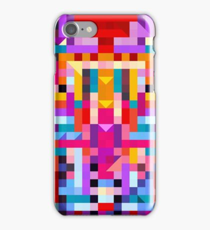 Colorful Mosaic iPhone Case/Skin