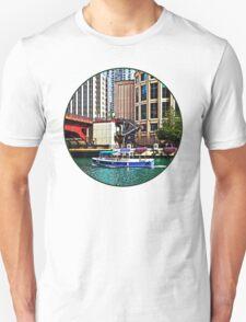 Chicago IL - Water Taxi by Columbus Drive Bridge Unisex T-Shirt
