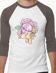 Floral Heal Ball Men's Baseball ¾ T-Shirt