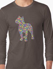 Pitbull Terrier, Easter Jellybeans Long Sleeve T-Shirt