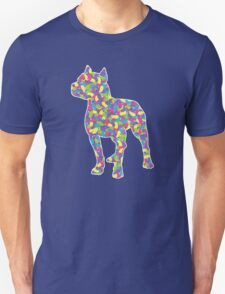 Pitbull Terrier, Easter Jellybeans Unisex T-Shirt