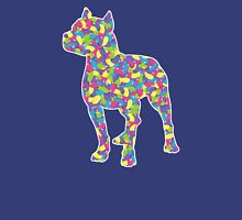 Pitbull Terrier, Easter Jellybeans Womens Fitted T-Shirt