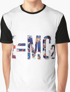 E=MC2 New York Islanders Martin, Cizikas, Clutterbuck  Graphic T-Shirt