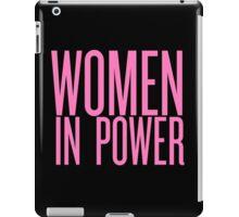 WOMEN IN POWER iPad Case/Skin