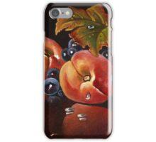 two peach iPhone Case/Skin