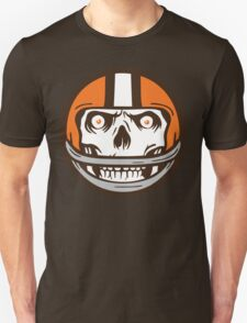 Die Hard Football Skull Icon T-Shirt